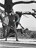 Unbekannt Photo de Romy Schneider Avec Alain Delon…15x20cm…6x8inch