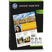 HP CR712AE - Pack de 3 cartuchos de tinta para Officejet 951XL (amarillo, cian, magenta)
