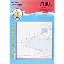 Carte marine : De Jersey à Guernsey