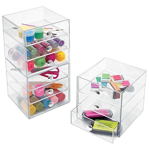 Aufbewahrungsbox Für Schminke : lieferadresse deutschland amazon schweiz interdesign drawers schubladenbox 3 schubladen ~ Frokenaadalensverden.com Haus und Dekorationen