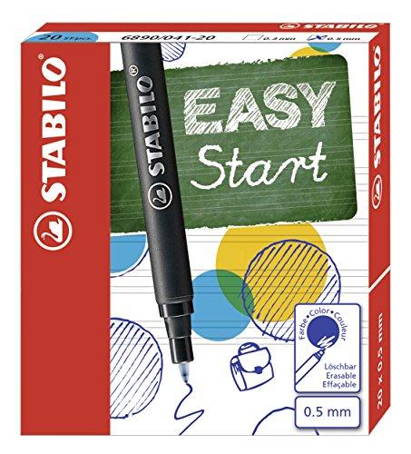 Patronen zum Nachfüllen - STABILO EASYoriginal Refill - medium - 20er Pack - Schreibfarbe blau...