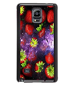 Fuson 2D Printed Fruits Designer back case cover for Samsung Galaxy Note 4 - D4513