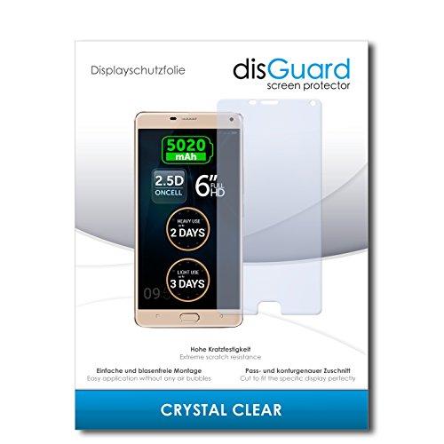 disGuard® Bildschirmschutzfolie [Crystal Clear] kompatibel mit Allview P8 Energy Pro [3 Stück] Kristallklar, Transparent, Unsichtbar, Extrem Kratzfest, Anti-Fingerabdruck - Panzerglas Folie, Schutzfolie