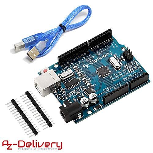 AZDelivery Placa desarrollo microcontrolador cable