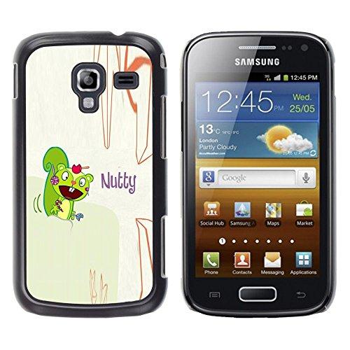GooooStore/Dura Custodia Rigida della copertura della cassa - Squirrel Mad Funny Quote Cartoon Drawing - Samsung Galaxy Ace 2 I8160 Ace II X S7560M