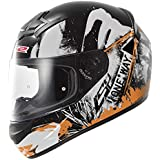 LS2Casque de moto XXL Nero/Arancione Fluo
