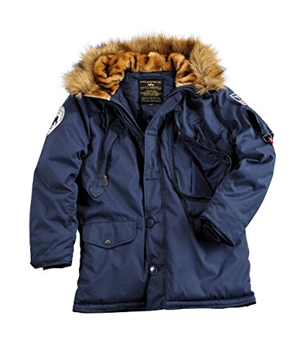 Alpha Polar Jacket, Parka Uomo rep.blue