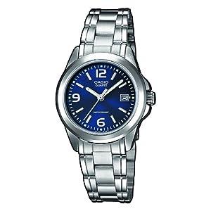 Casio Collection LTP-1259PD-2A, Reloj Análogo Clásico, Acero Inoxidable,