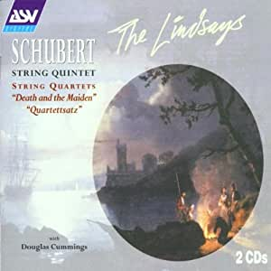 "Schubert: String Quintet in C, D956; String Quartets ""Death and the Maiden"" & ""Quartettsatz"""