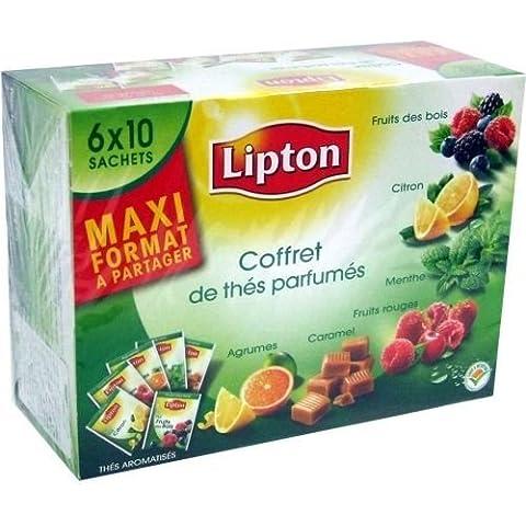 Lipton bustine di tè '6 tipi di tè' 6 x 10 dimensioni. (Import) - Lipton Bustine Di Tè