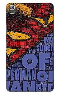iessential superman Designer Printed Back Case Cover for Lenovo K3 Note