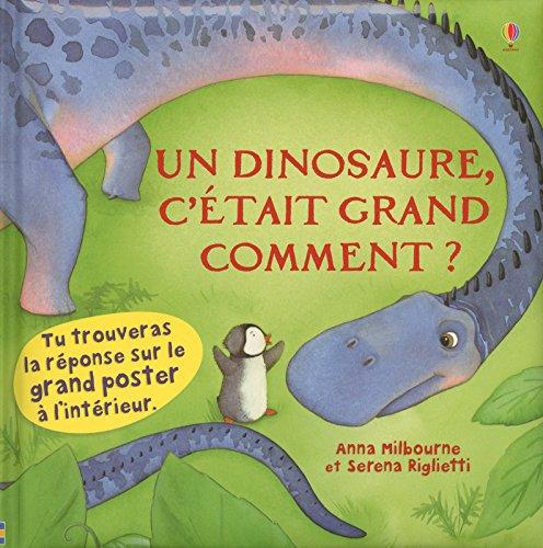 Un dinosaure, c'était grand comment ? por Nicola Butler