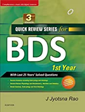 Quick Review Series for BDS 1st Year