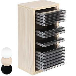 Jago scaffale mobile porta cd muro parete fino 20 cd - Porta cd da muro ...