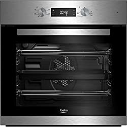 Beko BRIF22300X A Rated Built-In Electric Single Oven - Black