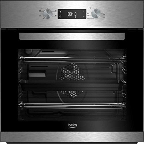 51I5UqMbf%2BL. SS500  - Beko BRIF22300X A Rated Built-In Electric Single Oven - Black