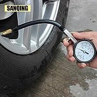Medidor de presión de neumático medidor de presión de neumático profesional medición de aire PSI/