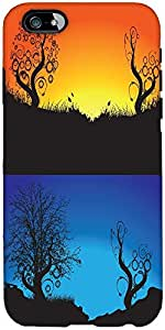 Snoogg Abstract Tree Background Designer Protective Back Case Cover For Apple...