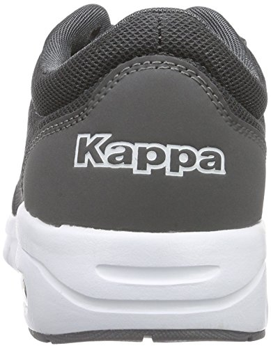 Kappa Melo Footwear Unisex, Mesh/Synthetic, Baskets Basses mixte adulte Gris - Grau (1310 anthra/white)