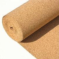 1m x 10m x 3mm Base antideslizante hoja de corcho, grosor de 3mm–10M