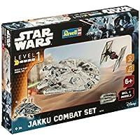 Revell RV06758 Control Build & Play Jakku Combat Set, Grigio
