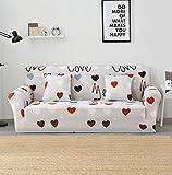 FORCHEER Sofabezug elastische Sofahusse Sesselbezug Stretchhusse Sofaüberwurf Couch Husse mit 4 verschienden Größe ( 1-Sitzer, 90-140cm, Farbe #31)