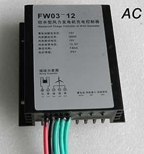 SUNSG 100W/200W/300W 12VAC wind charge controller / Windgebührensteuerpult / Wind Laderegler / Gebühren-Steuerpult für Generator Wind