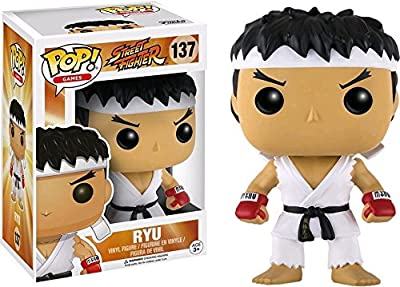 Funko - Figurine Street Fighter - Ryu White Headband Exclu Pop 10cm - 0889698124195
