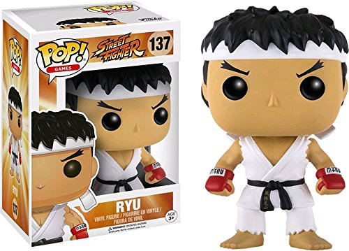 Funko Pop Ryu – Ed. Especial con cinta blanca en la frente (Street Fighter 137) Funko Pop Street Fighter