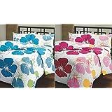 Renown Cotton Blue & Pink Single Blanket(Set Of 2)