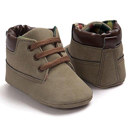 11 Braun Braun Girl M盲dchen kinderschuhe Boy weiche Schuhe Neue Baby Baby Leder Kleinkind Hunpta Sohle jungen Schuhe wp6aa
