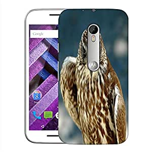 Snoogg Abstract Eagle Designer Protective Back Case Cover For MOTOROLA MOTO G TURBO EDITION