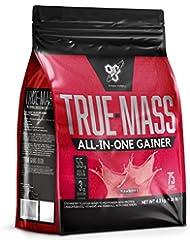 BSN All In One Weight Gainer Polvo de proteína de suero con creatina, glutamina y