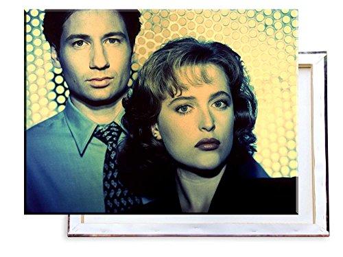 Unified Distribution Akte X TV Serie - 80x60 cm - Bilder & Kunstdrucke fertig auf Leinwand aufgespannt und in erstklassiger Druckqualität (Bild-serie)