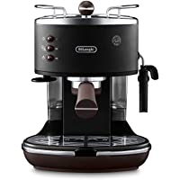De'Longhi Icona Vintage ECOV311.BK Macchina da Caffè Espresso Manuale e Cappuccino, Caffè in Polvere o in Cialde E.S.E…