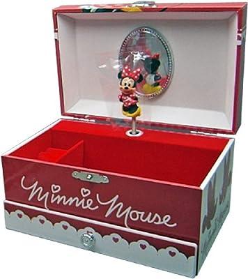 Minnie Mouse - Joyero musical con cajón, 18 x 11 x 10 cm (Kids WD91017) de Kids