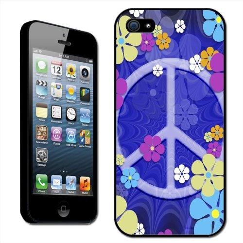 3fef2308aeb Fancy A Snuggle - Carcasa rígida para iPhone 5 de Apple, diseño hippie  vintage con