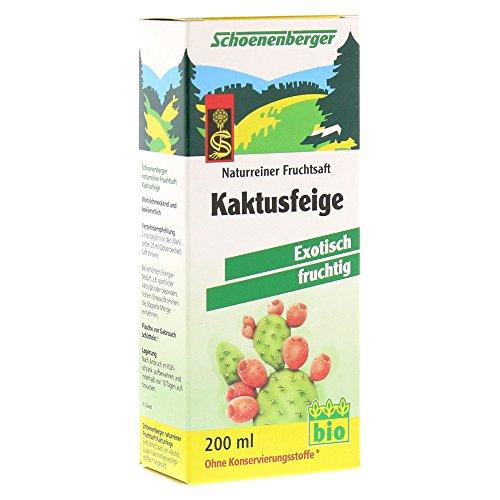 Kaktusfeige Saft (Schoenenberger Kaktusfeige, 1er Pack (1 x 200 ml) - Bio)
