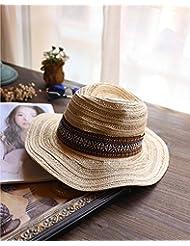 91e0df01de Sombrero Vaquero Hombre Adulto Panama Marfil Congregado Moda