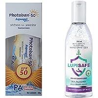 Photoban 50 Aquagel (60 gm) + Free Lupisafe Hand Sanitizer (100 ml)