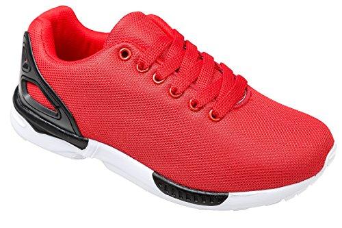 Gibra ® baskets, très léger et confortable-rouge-taille 36 Rouge - Rouge