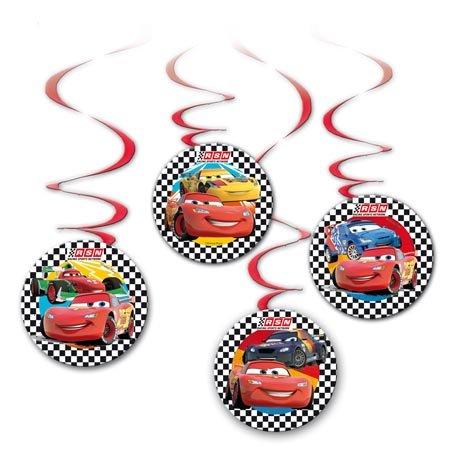 Deko * CARS II * für Kindergeburtstag // Kinder Geburtstag Party Deko Hanging Cutouts (Cars Geburtstag Party)