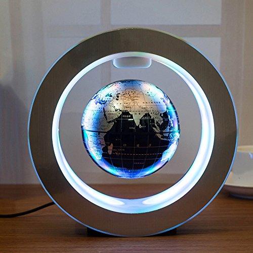 Carejoy 4''Magnetic Levitating Globe Anti-Gravity Floating drehen Erde Geschenk (Magnet Erde)