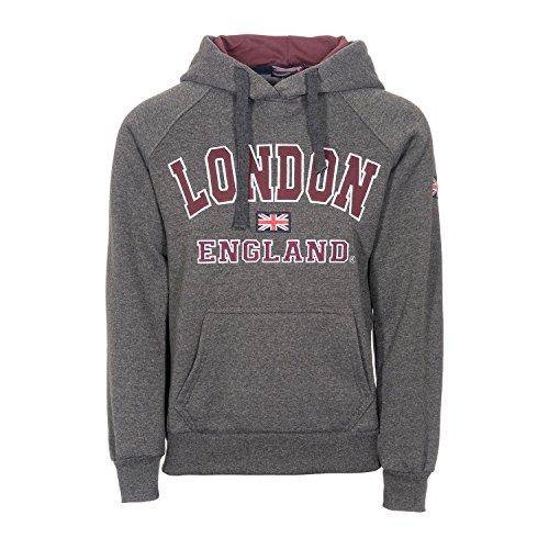 Damen England Hoodys Hoodies Sweatshirts Damen London Union Jack Tops Hoodies Super Quality (S 8/10, - London England