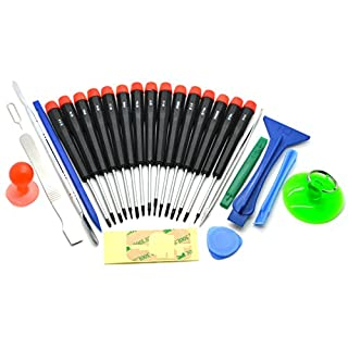 ACENIX® Werkzeugsatz 27-teilig Pentalobe Phillips Schraubenzieher für iPhone 5 4S 4G