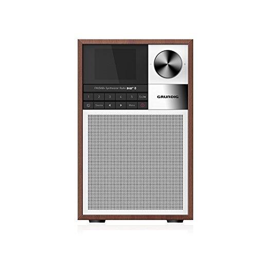 Grundig WTR 2000 BT - Radio (Personal, Analógico y Digital, Am,FM,UKW, 5 W, A2DP, Negro, Plata)
