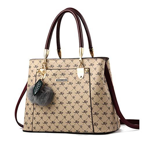 Mzdpp Luxus Handtaschen Frauen Taschen DesignerFrauen Leder Tasche Handtasche Schultertasche...