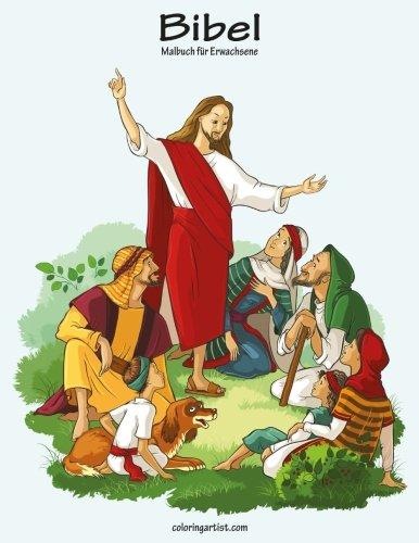 Bibel-Malbuch für Erwachsene 1