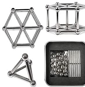 Neomag Magnet Stick Silver Set