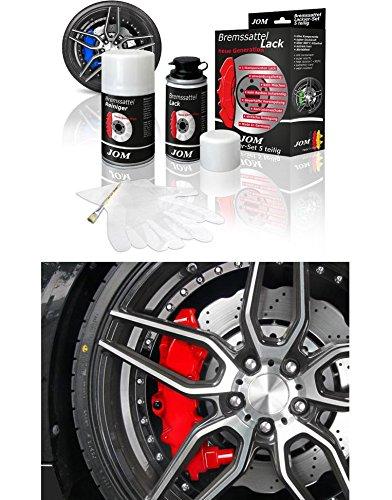Preisvergleich Produktbild Bremssattellack Lack ROT 5-teilig Komplett-Set MADE IN GERMANY